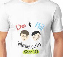 Dan & Phil: Internet Cuties Print Unisex T-Shirt