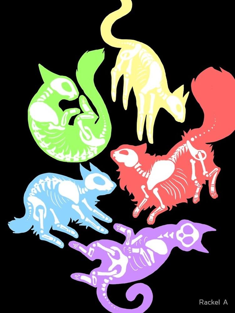 Creepy Kitties in Color by CapBadgered