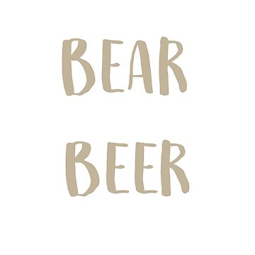 Mama Bear Needs A Beer or Two T-Shirt by mia1949