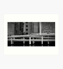Freeway - Brisbane Art Print