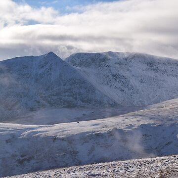 Lake District: Catstycam & Helvellyn from Sheffield Pike by rob3003