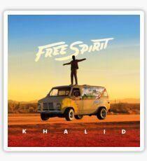 Khalid Free Spirit Sticker