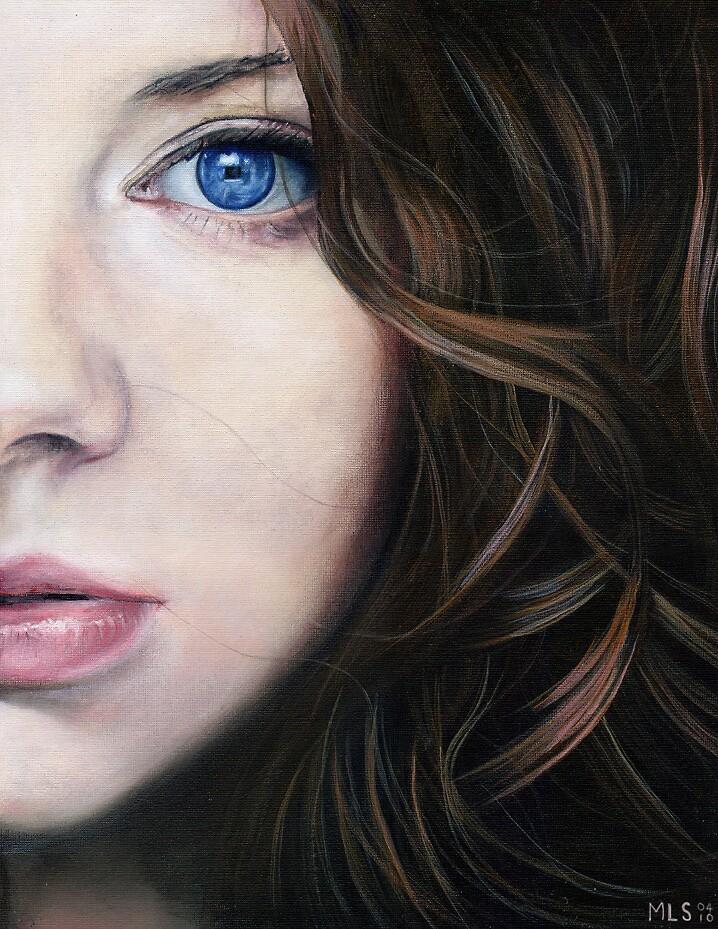 Mina, close-up by Martin Lynch-Smith