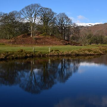 Lake District: River Brathay Reflections by rob3003