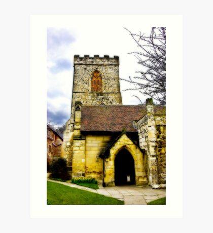 Holy Trinity Church - Goodramgate,York Art Print