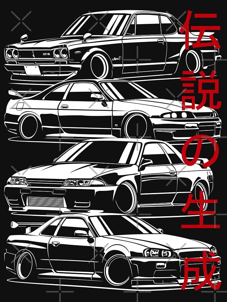 Skyline GTR Generation by OlegMarkaryan