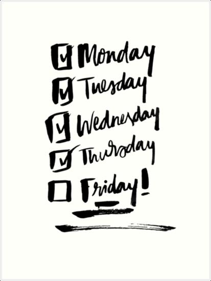 Weekly Countdown by missylayner