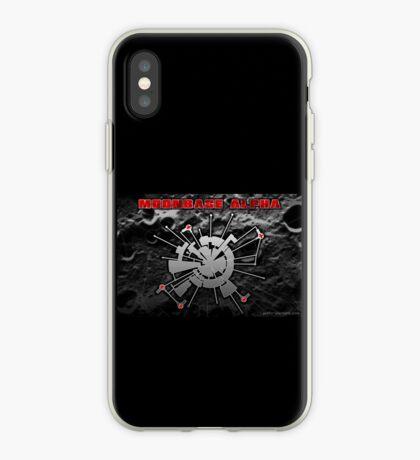 Moonbase Alpha Print iPhone Case