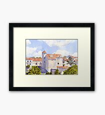 The Old Chateau at Montbron Framed Print