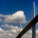 The Millau Viaduct by Amanda White