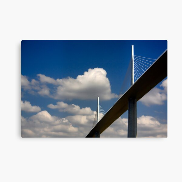 The Millau Viaduct Canvas Print