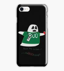 Stanley the Computer Programming Ghost iPhone Case/Skin