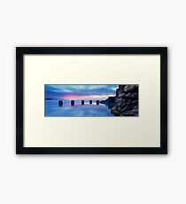Coogee Baths Sunrise Framed Print
