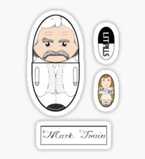 LitPills - Mark Twain (Classics Series) Sticker