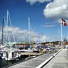 The harbour of Hundested, Denmark by Andrea Rapisarda