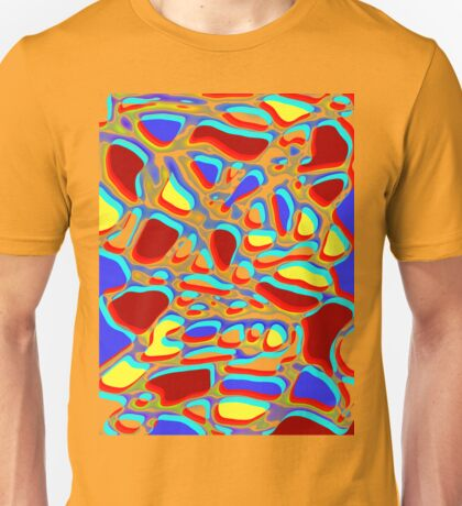 bright abstract a fun design for fun folk T-Shirt