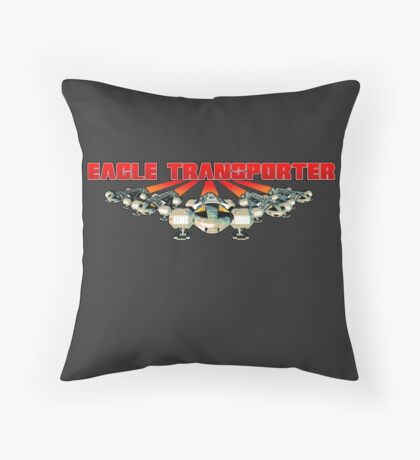 Eagle Transporter Full Front Throw Pillow