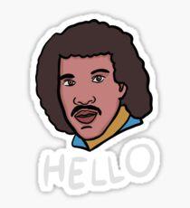 Lionel Richie (Hello) Sticker