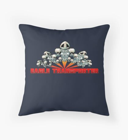 Eagle Transporter Ascent Full Front Throw Pillow