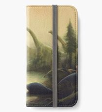 Cretaceous England Scene. Wessex Formation. Paleoart iPhone Wallet/Case/Skin