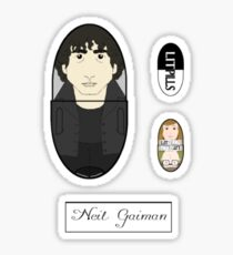 LitPills - Neil Gaiman (Modern Fantasy Series) Sticker