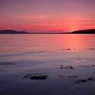 Sunset over Arran and Little Cumbrae. by Empato Photography