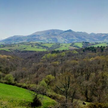 Panoramic landscape of Basque country by shkyo30