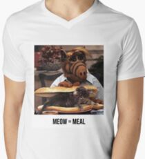 Alf Meow Men's V-Neck T-Shirt