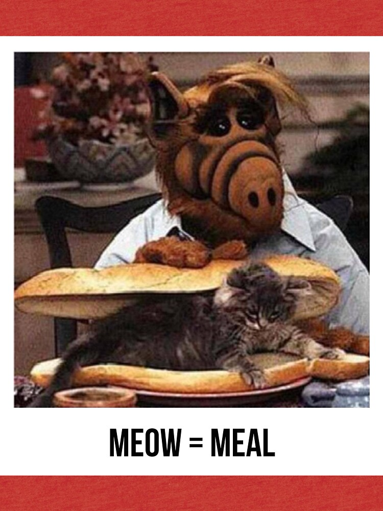 Alf Meow by gatofoli