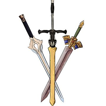 Fire Emblem - Legendary Swords by blindcoco