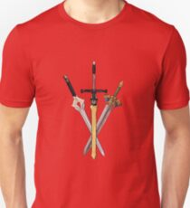 Fire Emblem - Legendary Swords Unisex T-Shirt