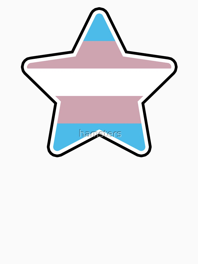 Large Trans Star by hamsters