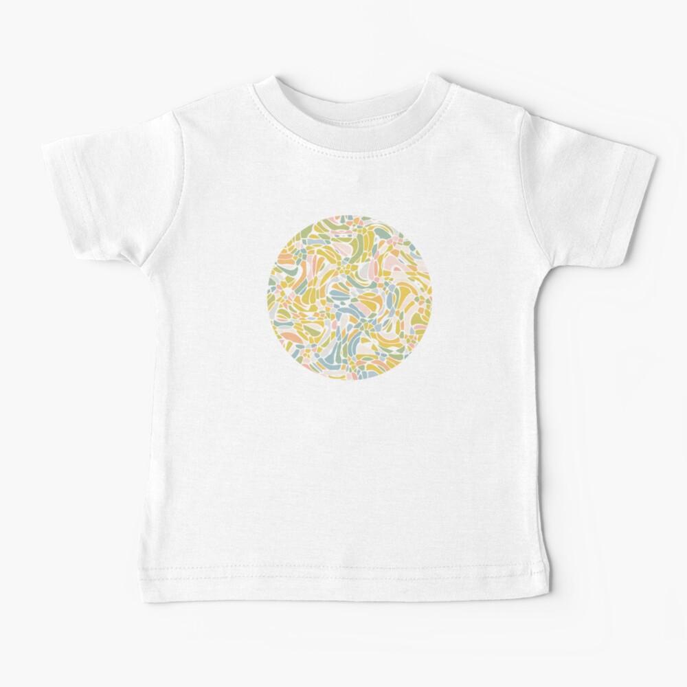 Pastel Pebbles Baby T-Shirt
