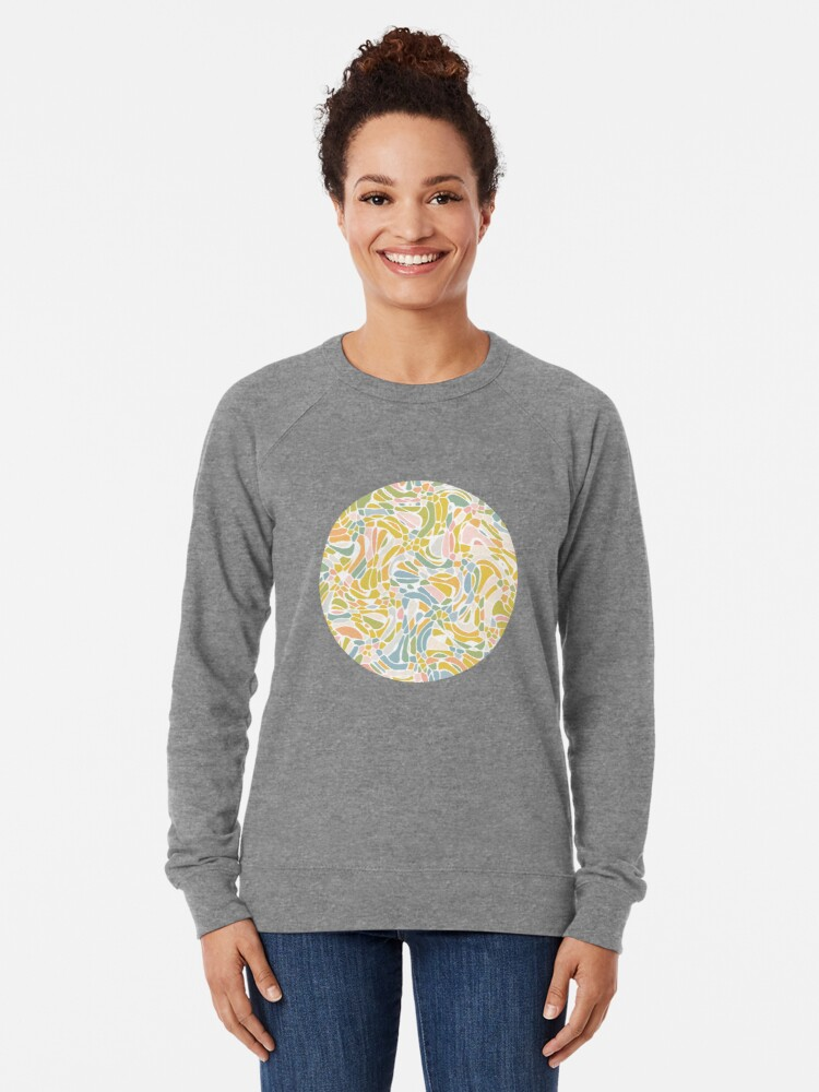 Alternate view of Pastel Pebbles Lightweight Sweatshirt