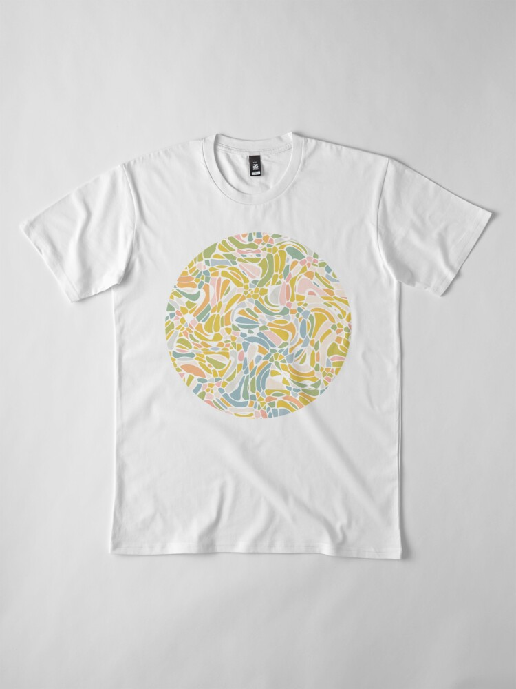 Alternate view of Pastel Pebbles Premium T-Shirt