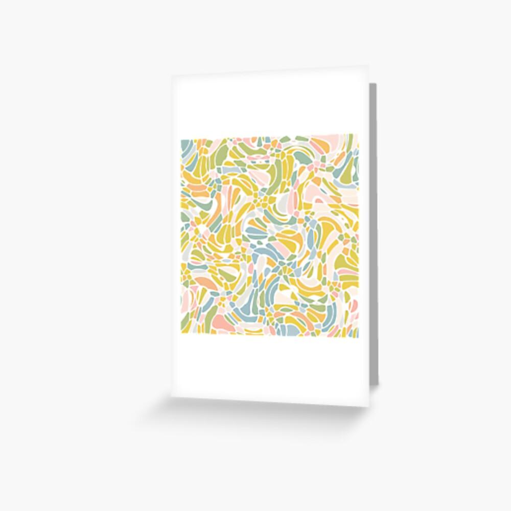 Pastel Pebbles Greeting Card
