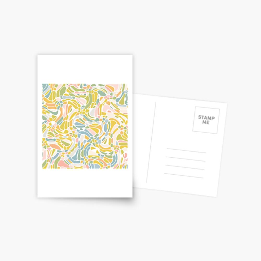 Pastel Pebbles Postcard