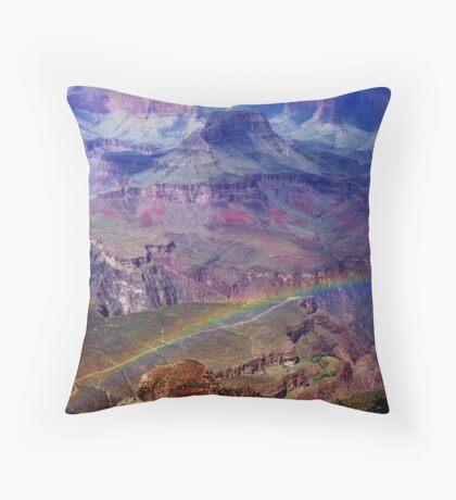 Arizona, Grand Canyon's rainbow Throw Pillow