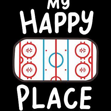 Ice hockey ice rink ice rink fan figure skating stadium gift by Rueb