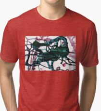 Abstract 017 Tri-blend T-Shirt