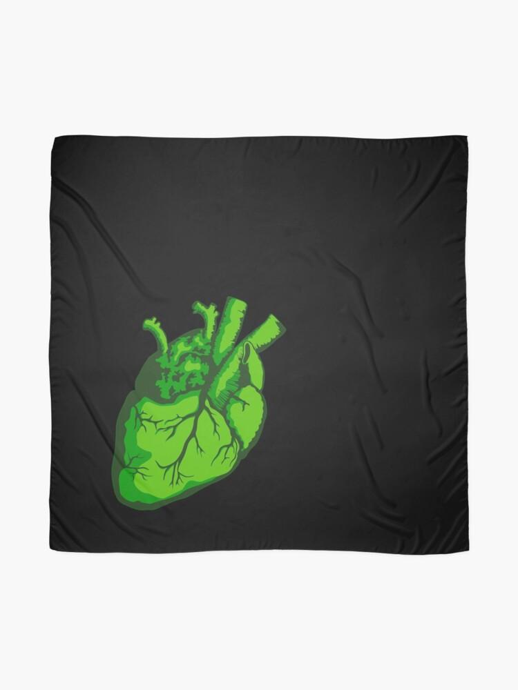 Alternate view of Vulcan Heart Scarf