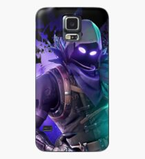 Funda/vinilo para Samsung Galaxy NUEVO Battle Royale Raven azul oscuro oficial oculto