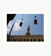 Citadel, Cairo Art Print