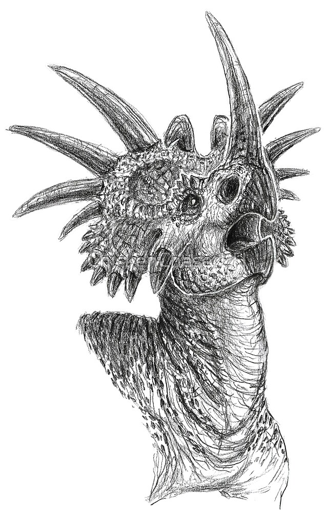 Styracosaurus by ChickenChaserLH