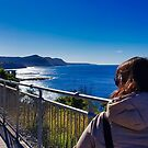 Seacliff Bridge-Super day for touring by Kenneth Hall