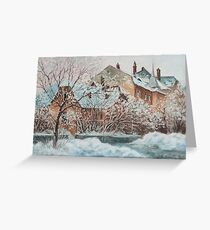Last Days Of Winter Greeting Card