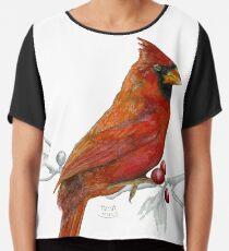 Goauche Cardinal Chiffon Top