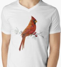 Goauche Cardinal V-Neck T-Shirt