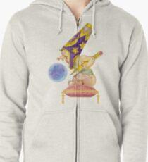 Watercolor Wizard Baby Zipped Hoodie