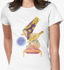 Watercolor Wizard Baby Fitted T-Shirt